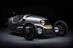 Morgan EV3: 3 Wheels, Ash Wood Frame And Electric Traction