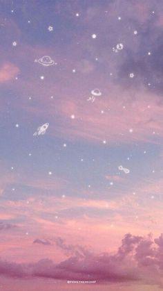 53 Ideas Aesthetics Pastel Wallpaper Ipad for 2019 - make-up life - # aesthetic . - 53 Ideas Aesthetics Pastel Ipad Wallpaper for 2019 – make-up life – # aesthetic - Pastell Wallpaper, Phone Wallpaper Pastel, Galaxy Wallpaper Iphone, Night Sky Wallpaper, Wallpaper Space, Iphone Background Wallpaper, Scenery Wallpaper, Aesthetic Pastel Wallpaper, Kawaii Wallpaper