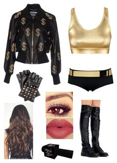 Bragging on WWE Main Event by rosemlove on Polyvore featuring Moschino, Freya, Valentino, H&M and WWE