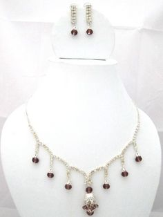 Victorian Jewelry for Women with White Brown Beaded Neckless and Earrings Set Mogul Interior, http://www.amazon.com/dp/B009ENC1N8/ref=cm_sw_r_pi_dp_Wsfxqb05H326G$33.00