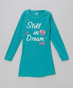 Take a look at this Blue 'Still in a Dream' Nightgown - Girls by Sugar Sweet on #zulily today!