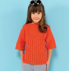 Modèle pull crochet Enfant - Modèles Enfant - Phildar