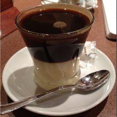 Cafe Bombon... Espresso and condensed milk.