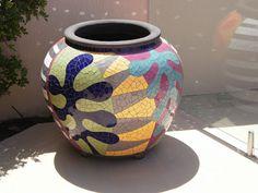 the garden's end: Mosaic Pots