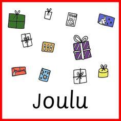Materiaali - Värinautit Christmas, Xmas, Navidad, Noel, Natal, Kerst