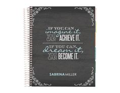 life planner -imagine dream become Arc Planner, Erin Condren Life Planner, Planner Ideas, Thrive Life, Planner Organization, Organizing, Stationery Paper, Getting Organized, Note Cards