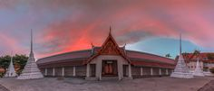 Temples at Dawn by Jerry Fryer