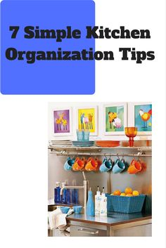 http://www.jrrmblog.com/kitchen-organization/ 7 tips to help make your kitchen more organized and efficient.