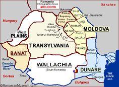 Romania Folk Natioanl Ethnic Popular Costumes Romania Map, Visual Map, Popular Costumes, My Heritage, Eastern Europe, Bulgaria, Travel Guides, Ukraine, Folklore
