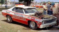 Vintage Drag Racing - Pro Stock - Butch Leal & The California Flash