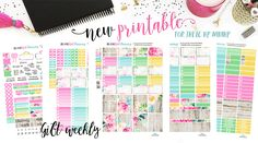 Every day is a Gift Weekly Printable for the Erin Condren, Happy Planner, Mini Happy Planner, Recollections Spiral and Personal