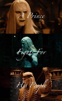 Prince Nuada from Hellboy II