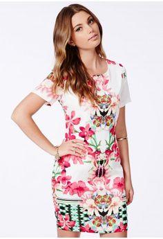 Suzanna Floral Shift Dress - Dresses - Floral Dresses - Missguided