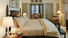 Presidential Suite at Pinehurst Resort, one of my favorite designs I've done over the past 10 years! Interior Design Work, Interior Decorating, Exterior Design, Pinehurst Resort, Pretty Bedroom, Master Bedroom Design, Beautiful Bedrooms, Just In Case, Bedroom Decor