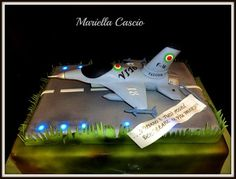 F 16 Airforce Cake by Mariella Cascio