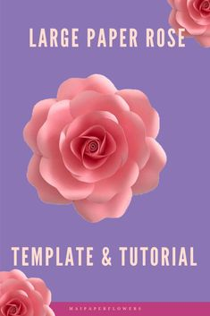 Are you looking for paper roses diy tutorial? This large paper rose template is creatively and uniquely designed from my shop. Easy to make it with Cricut, Silhouette cutting machines or with a printer! #paperrosesdiy #paperrosestutorial #rosepaperflowertemplate #largepaperrosetemplate #paperrosetemplate #paperroseprintabletemplate #rosetemplate #paperrosetemplatesvg #paperrosecricut #largepaperroses Easy Paper Flowers, Paper Flower Backdrop, Paper Roses Tutorial, Giant Paper Flowers, Printable Templates, Flower Center, Flower Template, How To Make Paper, Flower Crafts