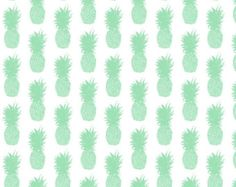 Pineapple Mint - Fabric by the Yard
