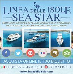 Acquista in modo semplice e sicuro il tuo biglietto per una meravigliosa escursione tra le isole dell'Arcipelago di la Maddalena - Sardegna