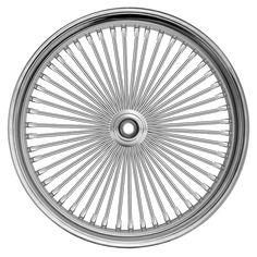"""Fat 50-Spoke """"Fat Daddy"""" Motorcycle Wheel"""