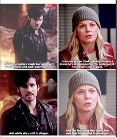 Even separated they're still trying to protect each other