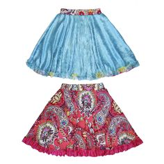 TwirlyGirl - Reversible Twirly Ruffle Skirt Fun Girls Red Skirt | Rose Red Princess Clouds, $64.00 (http://www.twirlygirlshop.com/girls-red-skirt)