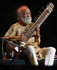 Ravi Shankar - (1920-2012) Sitar player extraordinaire. You will be missed. A talented man who led an interesting life.