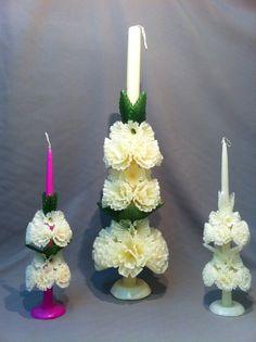 Mas ideas para tu boda... #boda #decoracion #velas