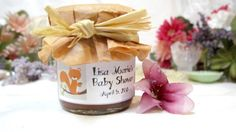 Baby Shower Favors Vintage Woodland Fox choose by InNonnasKitchen