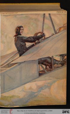 Jugend, German illustrated weekly magazine for art and life, Volume 17.1, 1912.
