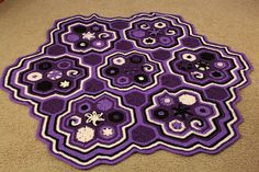 Ravelry: Hexaghan pattern by Julie Yeager
