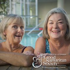 Age is knowing the joy of spending time with that friend who can always make you laugh, no matter what kind of day you're having. Check out more beautiful photos like this on our #Instagram page! #GoodSamaritanSociety