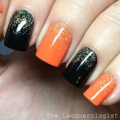 The Lacquerologist: Sally Hansen Miracle Gel Halloween Shades: Swatches & Easy Nail Art