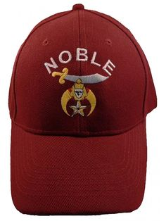 Shop SHRINER Baseball Cap Shriners NOBLE Hat Masonic Mens Maroon Burgundy and discover a large selection of Men's Baseball Caps at affordable prices. Baseball Dugout, Baseball Caps, Baseball Birthday, Baseball Season, Mens Caps, Hats For Men, Caps Hats, Mens Fashion, Fashion Hats