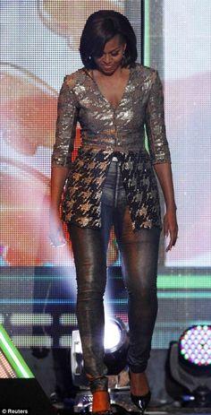 I don't think I'd wear it, but DAMN!  That's our First Lady!
