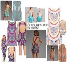 Mara Hoffman: Patterns and Cutout dresses