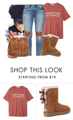 """""""Nvm this."""" by liveitup-167 ❤ liked on Polyvore featuring StyleNanda, UGG and Sam Edelman"""