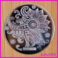Free Shipping   8pcs/lot  hehe006  Nail Stamping Image Plates