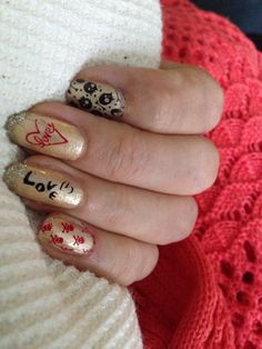 Puro love nailart