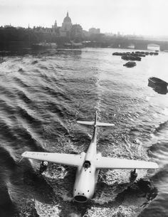 Jet seaplane. Don't see many of those.