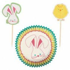 Hop n Tweet Cupcake Cases Party Pack