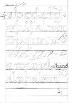 teaching children calligraphy... some ideas                                                                                                                                                                                 Más