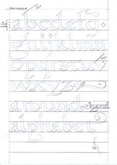 teaching children calligraphy... some ideas
