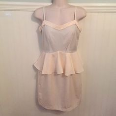 I just discovered this while shopping on Poshmark: NEW H&M Sz 6 Tencel Peplum Dress. Check it out!  Size: 6