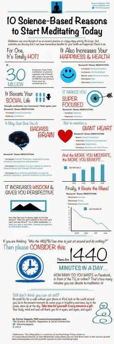 Need more reasons to start meditating?