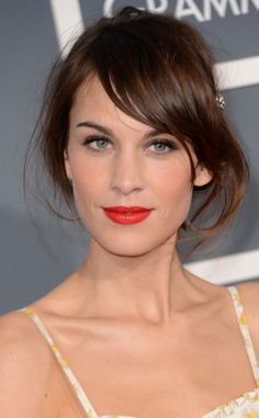 Alexa Chung, 2013 Grammys from Seeing Red: E! Style Collective's Top Red Carpet Moments | E! Online