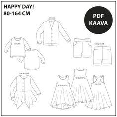 PDF Dance - väljä paita 32-56 ⋆ Jujuna Cross Top, Youre Cute, Happy Day, Cool Kids, Pdf, Dance, Cool Stuff, Mini, Tops