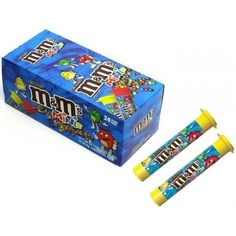 M&Ms Minis Milk Chocolate Candies Tubes 24 count