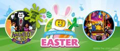 Make the most of the Easter break at the LEGOLAND Windsor Resort. Legoland Windsor, Easter Breaks, Lego Gifts, Free Lego, Broken Families, Moise, Hotel Packages, Lego Group, Kids Play Area