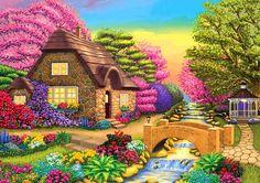 Пазл Пора цветения — собрать пазл онлайн