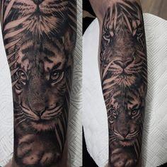 English Uk, Tiger Tattoo, Tattoos, Animals, Tatuajes, Animales, Animaux, Tattoo, Animal